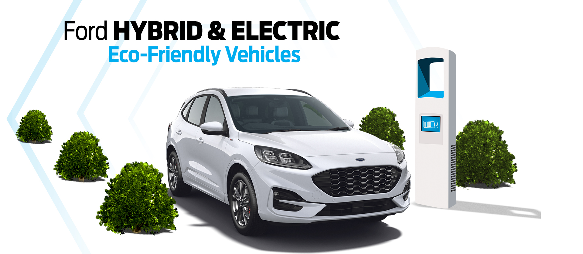 Ford Electric & Hybrid Range